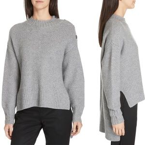 Nordstrom Signature High-Low Cashmere Pullover